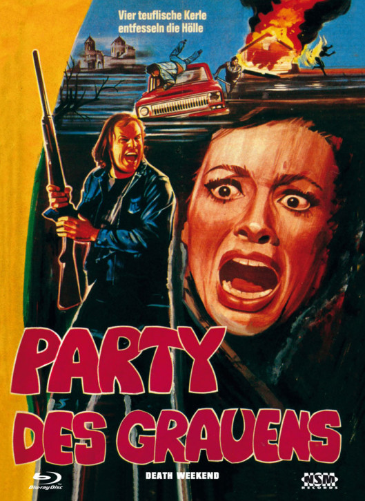 Party des Grauens - Limited Collector's Edition - Cover A [Blu-ray+DVD]