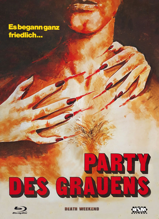 Party des Grauens - Limited Collector's Edition - Cover B [Blu-ray+DVD]