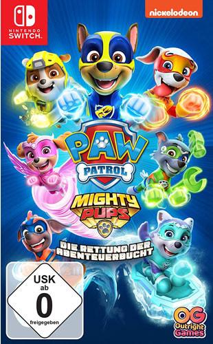 PAW Patrol Mighty Pups - Die Rettung der Abenteuerbucht [Nintendo Switch]