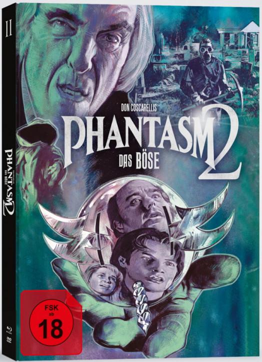 Phantasm 2 - Das Böse 2 - Mediabook - Cover A [Blu-ray+DVD]