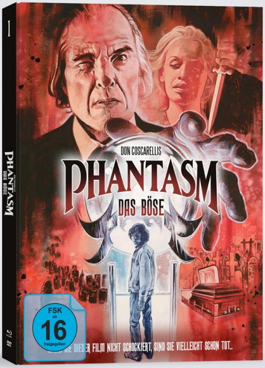 Phantasm - Das Böse - Mediabook - Cover C [Blu-ray+DVD]