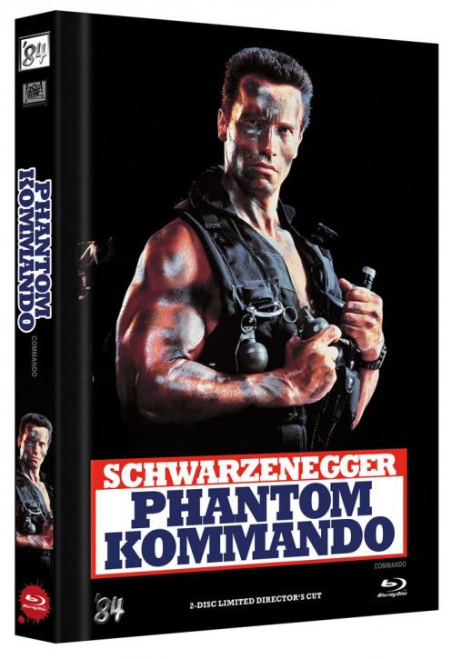 Phantom Kommando - Limited Director's Cut - Cover A [Blu-ray+DVD]