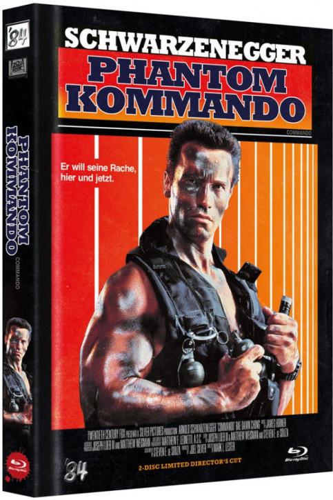 Phantom Kommando - Limited Director's Cut - Cover D [Blu-ray+DVD]