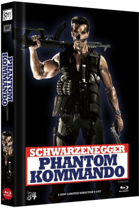 Phantom Kommando - Limited Director's Cut - Cover E [Blu-ray+DVD]