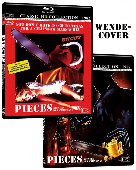 Pieces - Stunden des Wahnsinns (Classic HD Collection #6) [Blu-ray]