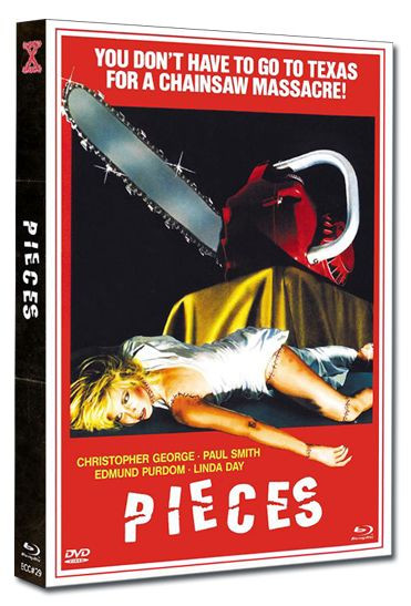 Pieces - Eurocult Collection #029 - Mediabook - Cover A [Blu-ray+DVD]