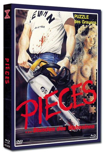 Pieces - Eurocult Collection #029 - Mediabook - Cover B [Blu-ray+DVD]
