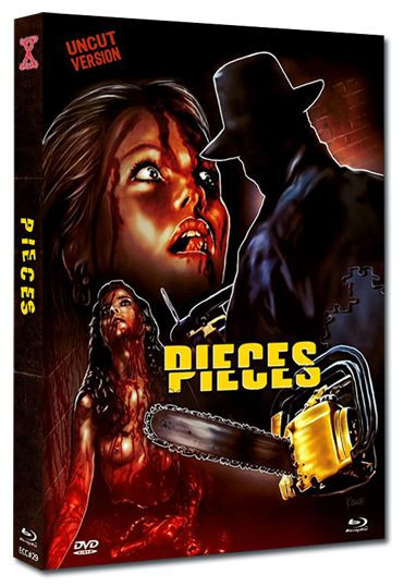 Pieces - Eurocult Collection #029 - Mediabook - Cover C [Blu-ray+DVD]