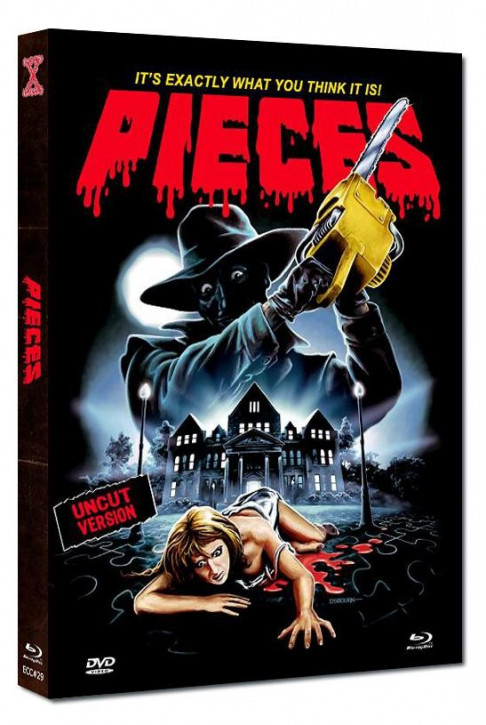 Pieces - Eurocult Collection #029 - Mediabook - Cover D [Blu-ray+DVD]