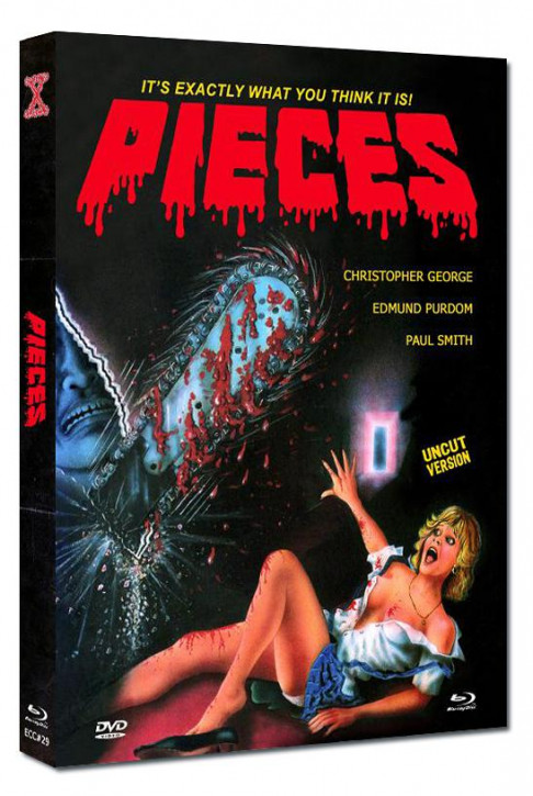 Pieces - Eurocult Collection #029 - Mediabook - Cover E [Blu-ray+DVD]