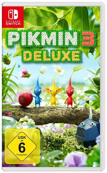 Pikmin 3 - Deluxe Edition [Nintendo Switch]
