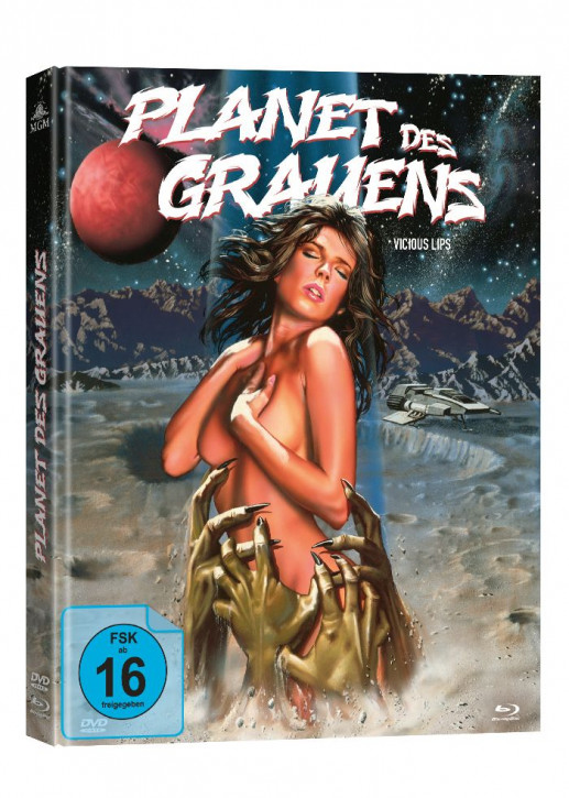 Planet des Grauens - Limited Mediabook [Blu-ray+DVD]
