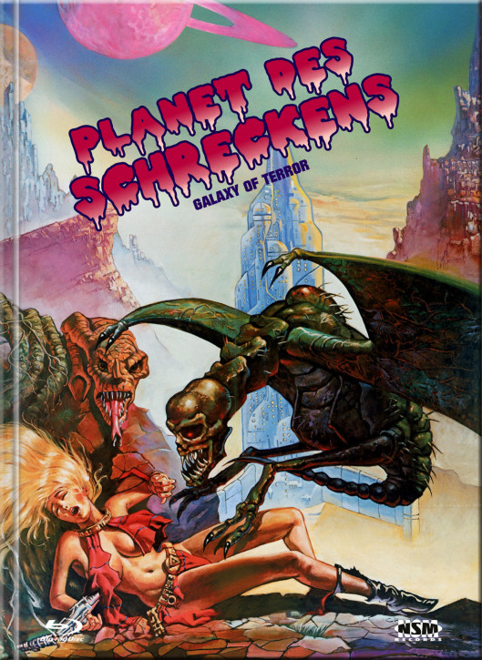 Planet des Schreckens - Mediabook - Cover A [Blu-ray+DVD]