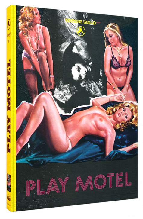 Play Motel (Sleaze Giallo) - Limited Mediabook Edition - Cover A [Blu-ray+DVD]