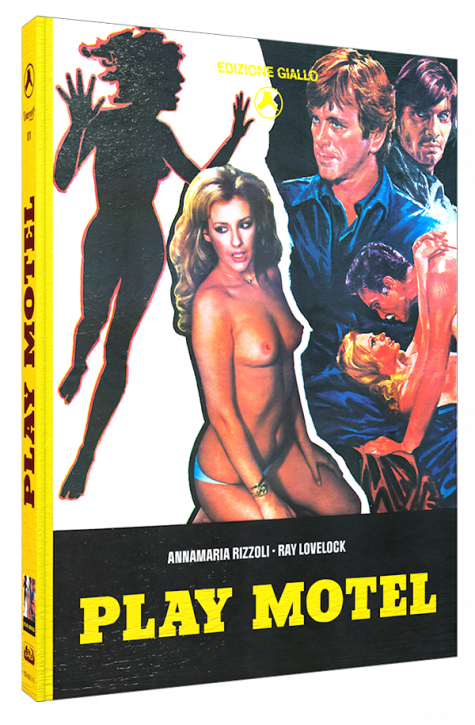 Play Motel (Sleaze Giallo)  - Limited Mediabook Edition - Cover C [Blu-ray+DVD]