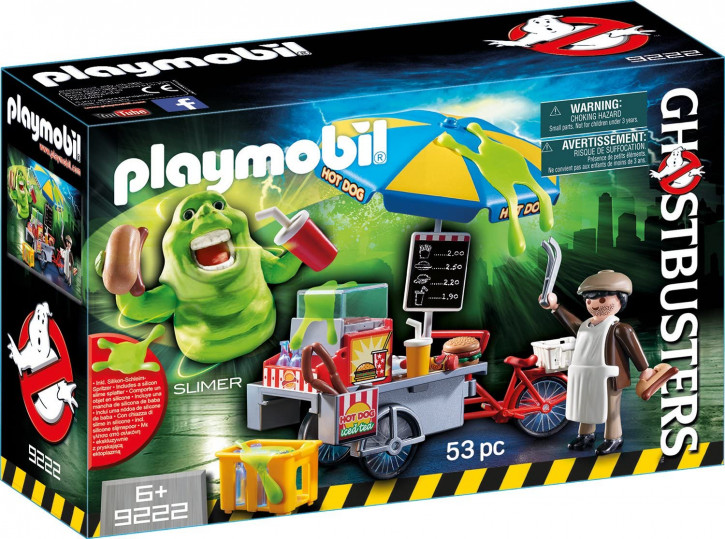 Playmobil - Ghostbusters 9222 - Slimer mit Hot Dog Stand