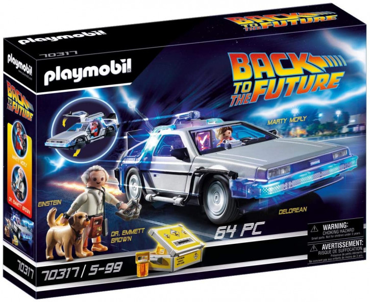 Playmobil - Back to the Future 70317 - DeLorean mit Lichteffekten
