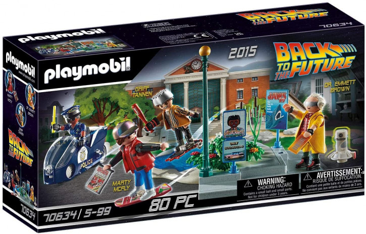 Playmobil - Back to the Future 70634 - Verfolgung mit Hoverboard