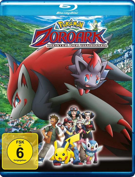 Pokemon 13 - Der Film: Zoroark: Meister der Illusionen [Blu-ray]