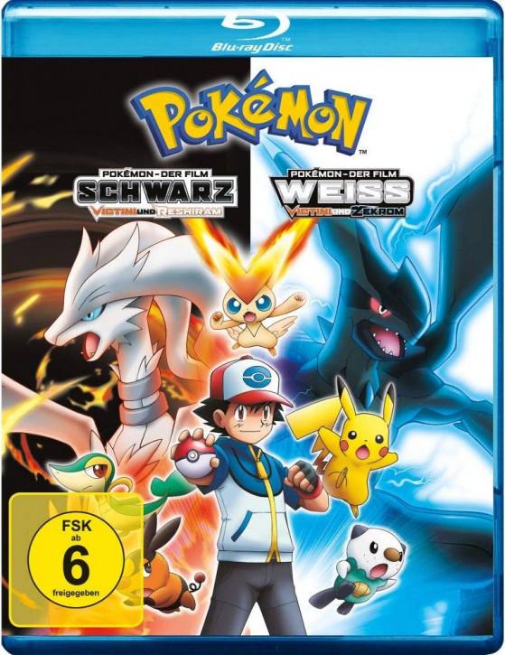 Pokemon 14 - Der Film: Schwarz - Victini und Reshiram / Weiß - Victini und Zekrom [Blu-ray]
