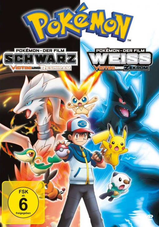 Pokemon 14 - Der Film: Schwarz - Victini und Reshiram / Weiß - Victini und Zekrom [DVD]