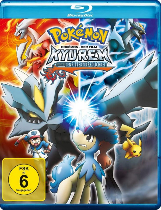 Pokémon 15 - Der Film: Kyurem gegen den Ritter der Redlichkeit [Blu-ray]