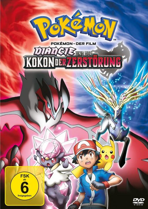 Pokemon 17 - Der Film: Diancie und der Kokon der Zerstörung [DVD]