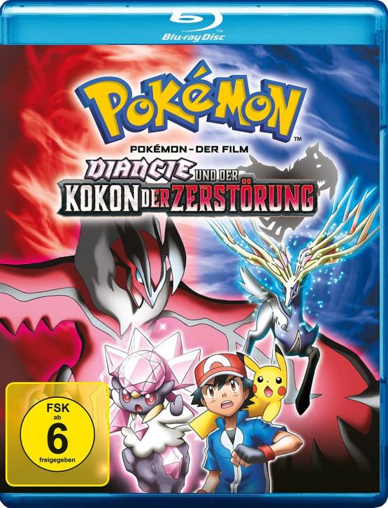 Pokemon 17 - Der Film: Diancie und der Kokon der Zerstörung [Blu-ray]