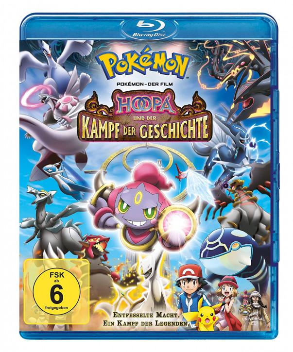 Pokemon 18 - Der Film: Hoopa und der Kampf der Geschichte [Blu-ray]