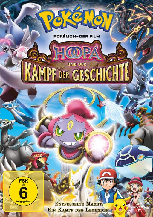 Pokemon 18 - Der Film: Hoopa und der Kampf der Geschichte [DVD]
