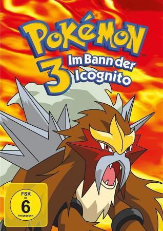 Pokemon 3 - Der Film: Im Bann der Icognito [DVD]