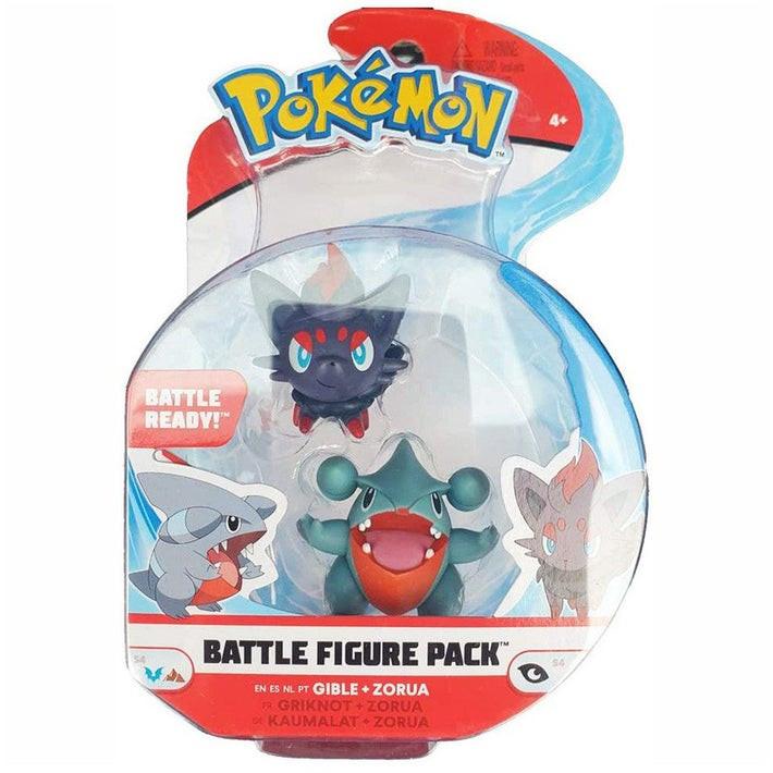 Pokemon Battle Figure Pack - Gible & Zorua