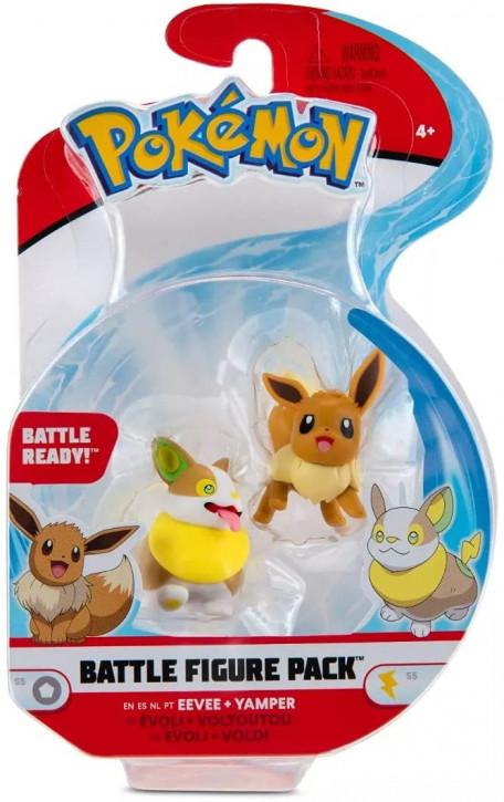 Pokemon Battle Figure Pack - Evoli & Voldi