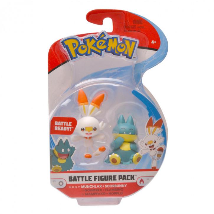 Pokemon Battle Figure Pack - Mampfaxo und Hopplo