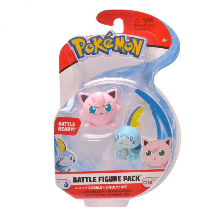 Pokemon Battle Figure Pack - Mimimikyu und Ditto