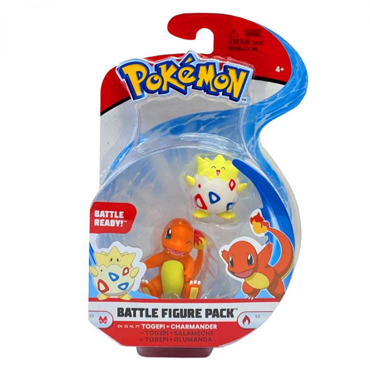 Pokemon Battle Figure Pack - Togepi und Glumanda