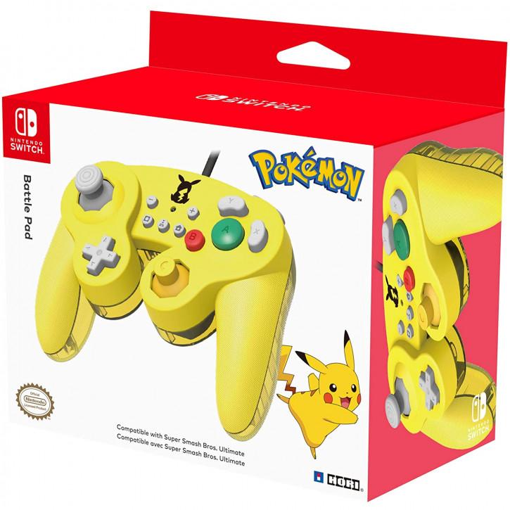 HORI Nintendo Switch Battle Pad (Pikachu) Controller [Nintendo Switch]