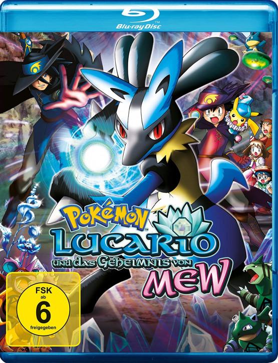 Pokemon 8 - Der Film: Lucario und das Geheimnis von Mew [Blu-ray]