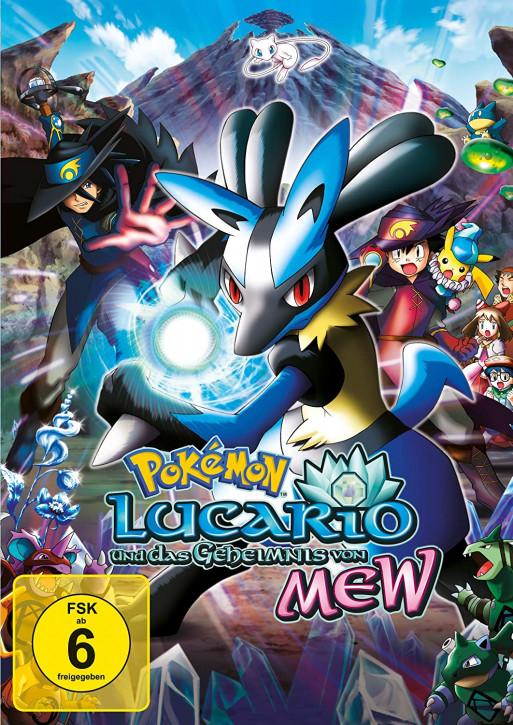 Pokemon 8 - Der Film: Lucario und das Geheimnis von Mew [DVD]