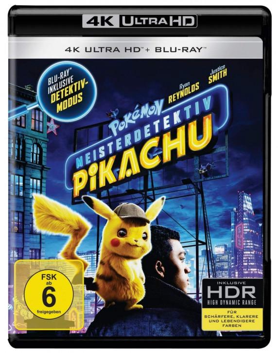 Pokémon Meisterdetektiv Pikachu [4K UHD Blu-ray]