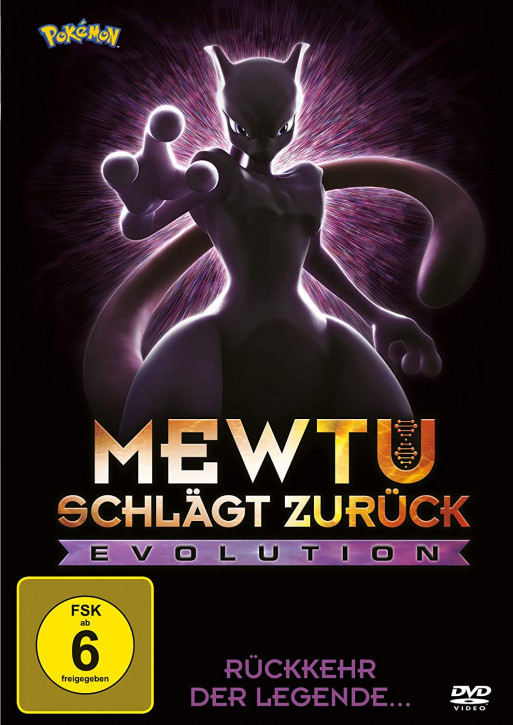 Pokemon: Mewtu schlägt zurück - Evolution [DVD]