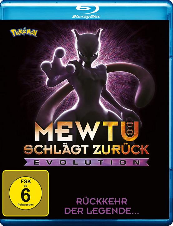 Pokemon: Mewtu schlägt zurück - Evolution [Blu-ray]