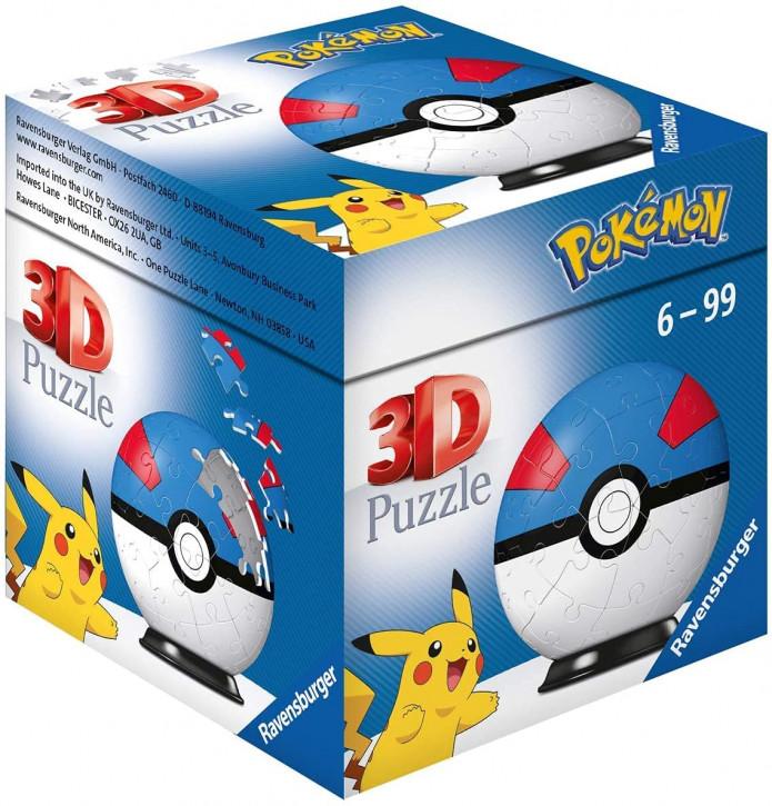 Pokémon - 3D Puzzle-Ball - Superball