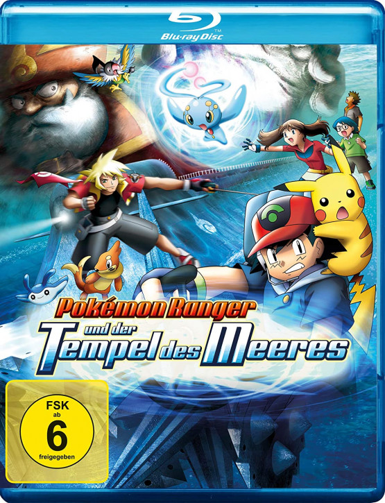 Pokemon 9 - Der Film: Pokemon Ranger und der Tempel des Meeres [Blu-ray]