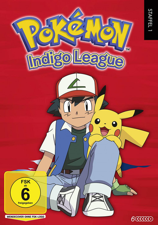 Pokémon Staffel 1: Indigo Liga [DVD]