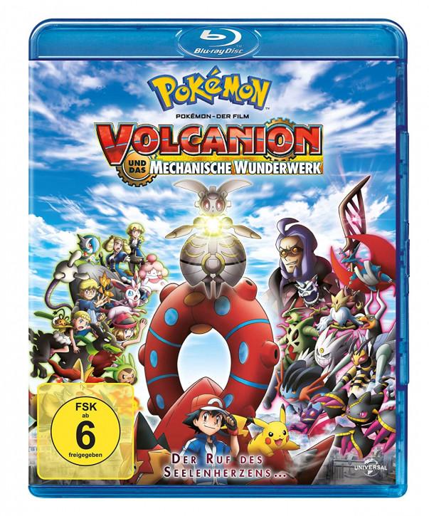 Pokemon 19 - Der Film: Volcanion und das mechanische Wunderwerk [Blu-ray]
