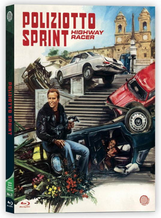 Poliziotto Sprint - Highway Racer (Italian Genre Cinema Coll. No. 21) [Blu-ray]