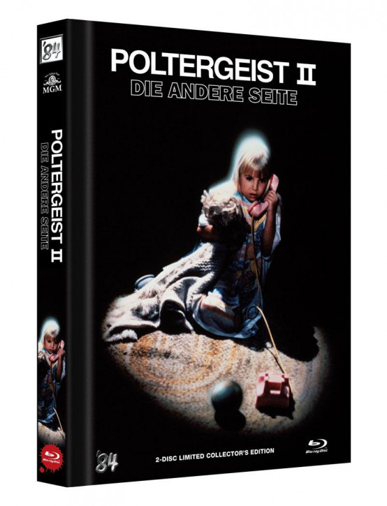 Poltergeist II: Die andere Seite - Limited Collector's Edition - Cover A [Blu-ray+DVD]