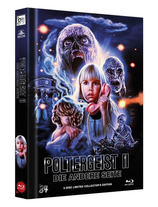 Poltergeist II: Die andere Seite - Limited Collector's Edition - Cover C [Blu-ray+DVD]