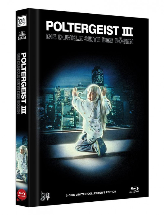 Poltergeist III: Die dunkle Seite des Bösen - Limited Collector's Edition - Cover B [Blu-ray+DVD]